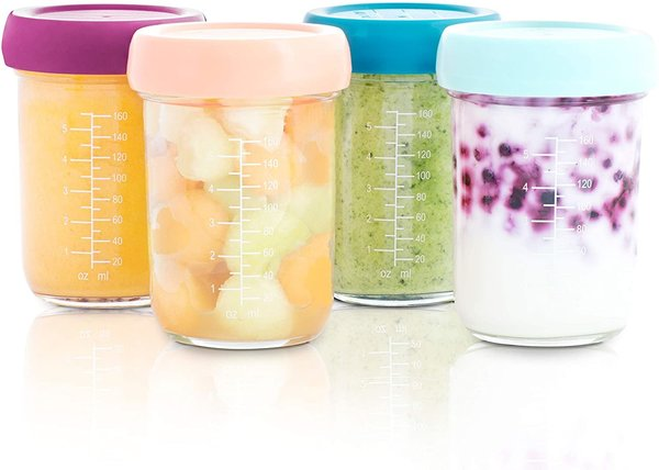 View larger image of Food Storage Glass 8oz Bowls - 4 pack