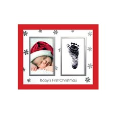 Babyprints Christmas Frame