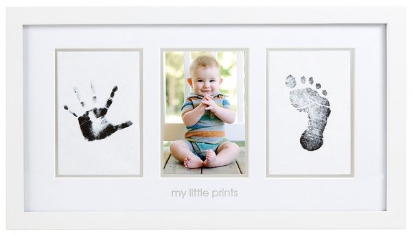 View larger image of Babyprints Photo Frame - White
