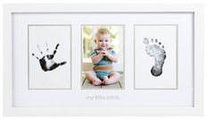 Babyprints Photo Frame - White