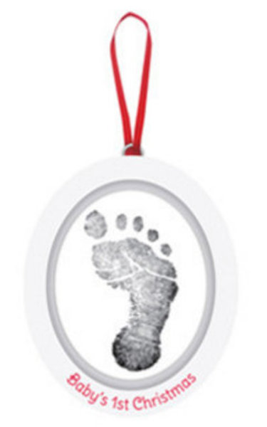 View larger image of Babyprints Photo Ornament