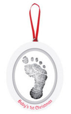 Babyprints Photo Ornament