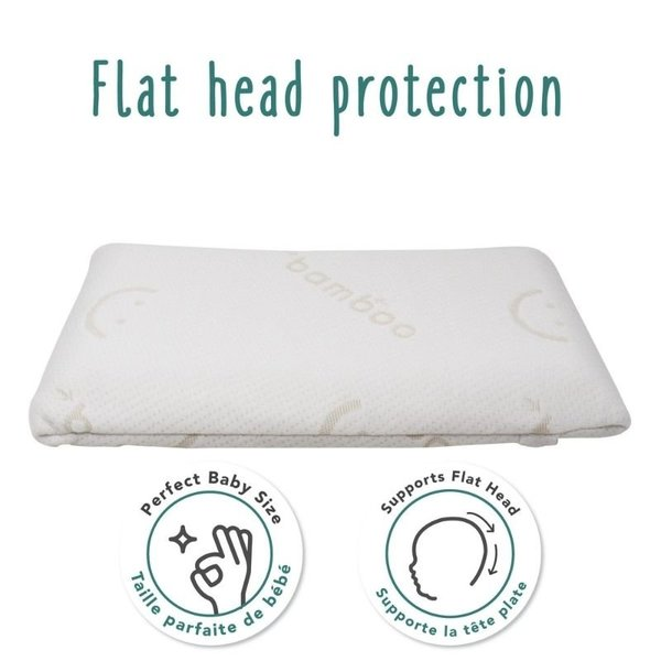 View larger image of Baby's First Pillow with Bamboo Cover