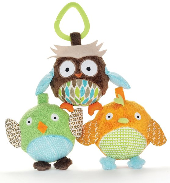 View larger image of Treetop Friends Owl & Friends Ball Trio