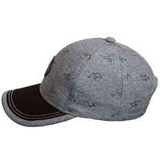 Grey Ball Hat