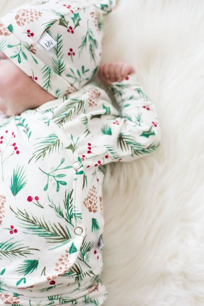 View larger image of Newborn PJ Snap Top