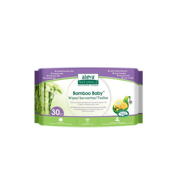 View larger image of Bamboo Baby Wipes - 30 pack