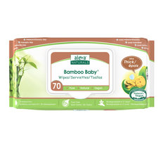Bamboo Baby Wipes - 70 Pack