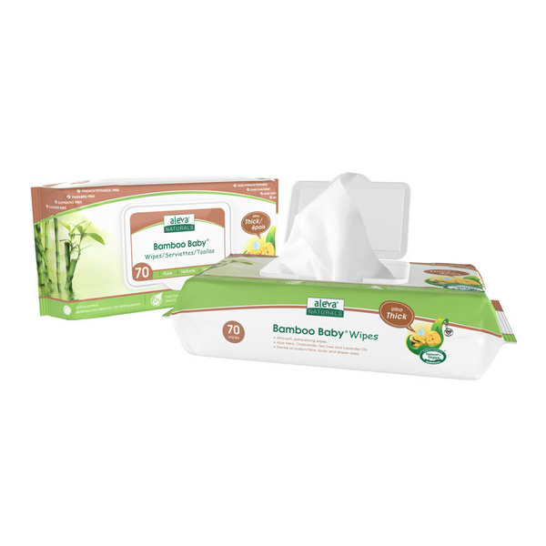 View larger image of Bamboo Baby Wipes - 70 Pack
