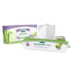 Bamboo Baby Wipes - 80 pack