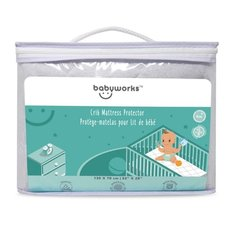 Bamboo Crib Mattress Protector