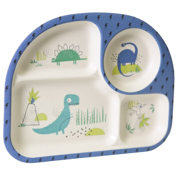 View larger image of Bamboo Feeding Set - Dino