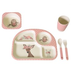 Bamboo Feeding Set - Garden Party