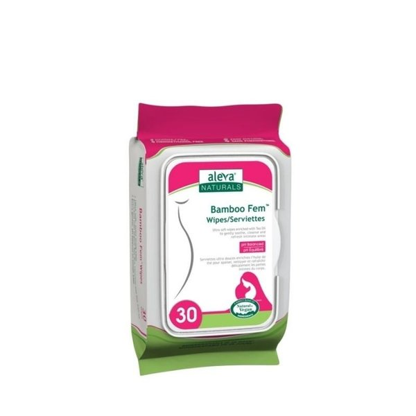 View larger image of Bamboo Fem Wipes 30ct