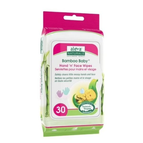 View larger image of Hand 'n' Face Wipes - 30ct