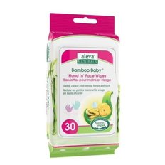 Hand 'n' Face Wipes - 30ct