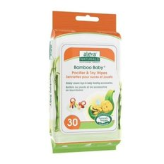 Bamboo Pacifier & Toy Wipes 30ct