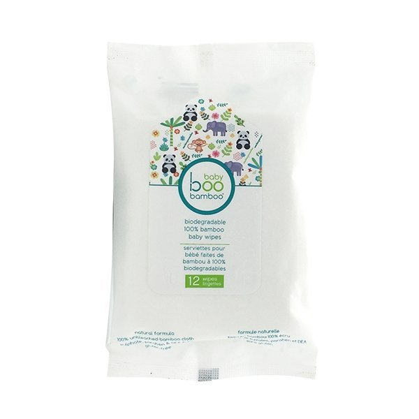 View larger image of Bamboo Wipes - 12 Pack