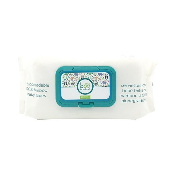View larger image of Bamboo Wipes - 80 Pack