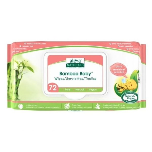 View larger image of Bamboo Wipes - Sensitive