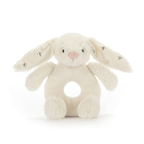 View larger image of Twinkle Bunny Ring Rattle