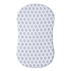 Bassinest Swivel Sleeper Fitted Sheet Muslin - Leaf