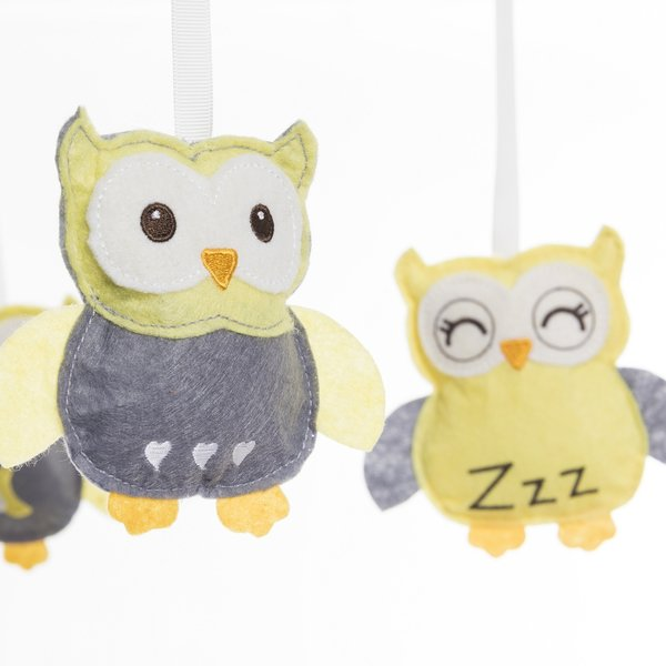 View larger image of Bassinest Mobile Sleepy Owl