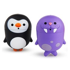 Clean Squeeze Bath Squirts - Penguin/Walrus