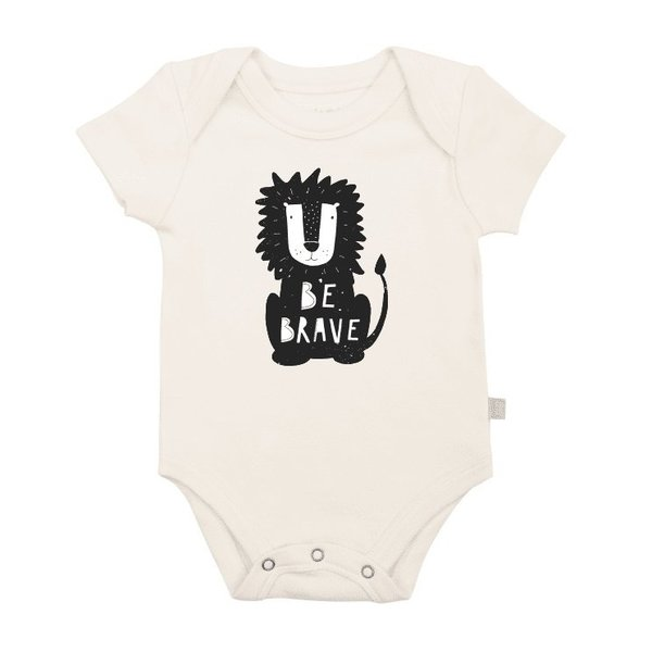 View larger image of Be Brave Organic Onesie