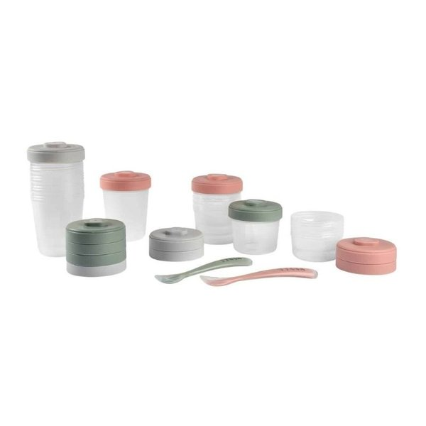 View larger image of Baby Food Clip Containers Set of 12 + Spoons