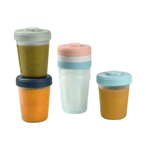 View larger image of Baby Food Clip Containers Set of 6