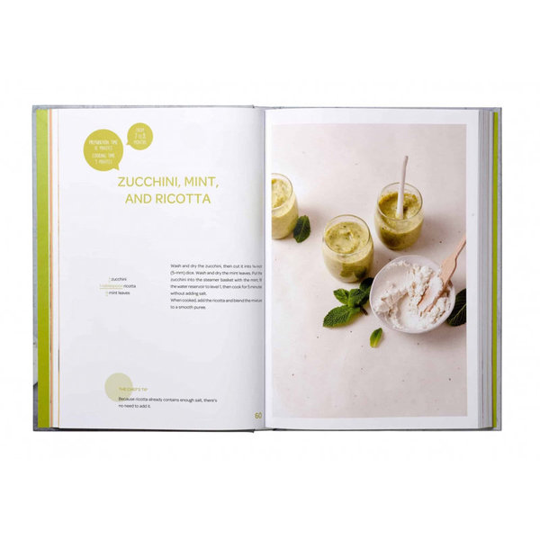 View larger image of Cookbook - Baby's First Foods with Babycook