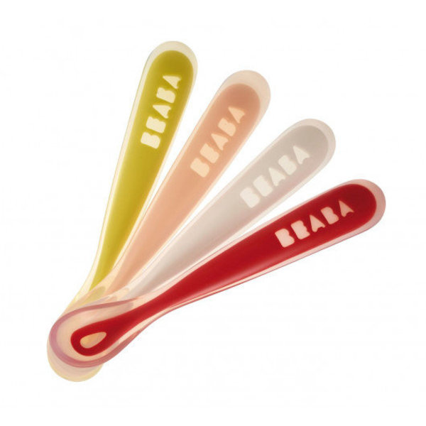 View larger image of First Stage Silicone Spoon - 4 Pack
