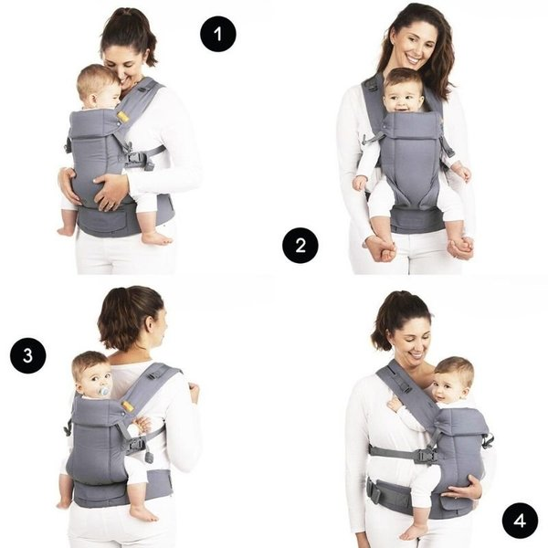 View larger image of Gemini Baby Carrier & Pocket
