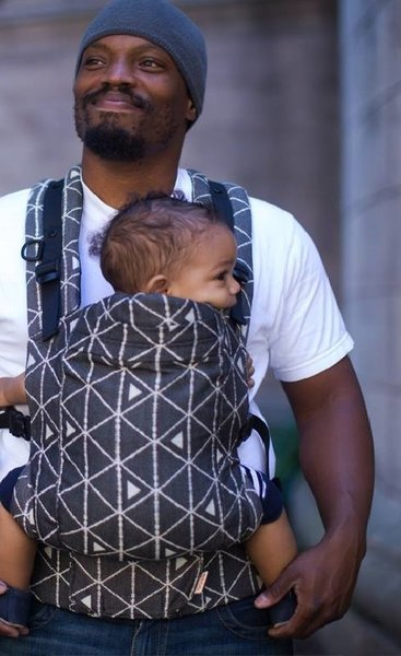 View larger image of Toddler Carrier - Delta Gothic (Black)