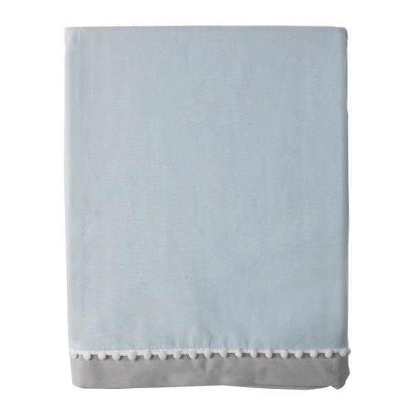 View larger image of Bed Skirt-Blue/Grey