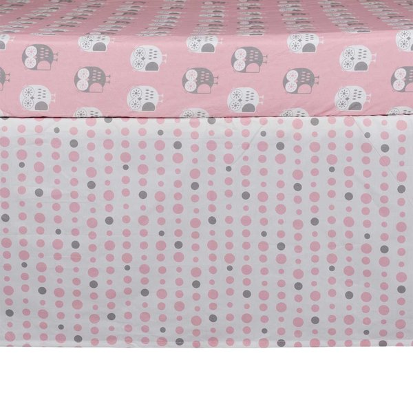 View larger image of Bed Skirt -Pink Dots