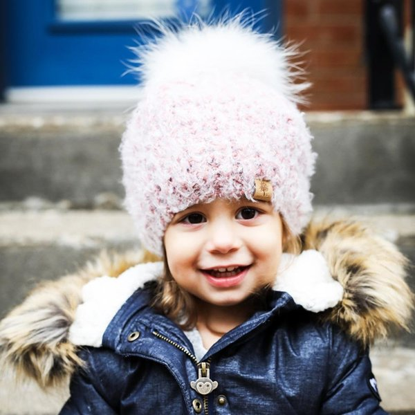 View larger image of Beanie Beret - Blush