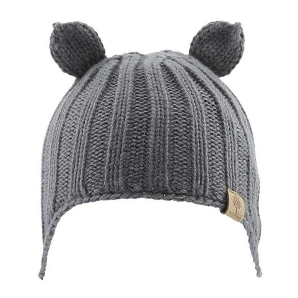 View larger image of Beanie w/ Ear Cover - Grey