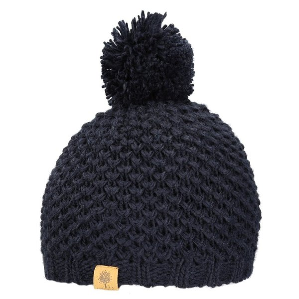 View larger image of Beanie w/Knit Pom - Navy