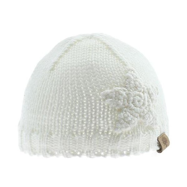View larger image of Knit Beanie w/ Star - Off White