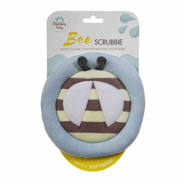View larger image of Blooming Bath Scrubbie Bath Mitt - Bee