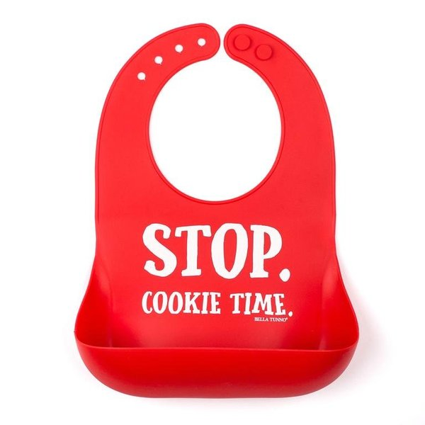 View larger image of Bib - Stop. Cookie Time
