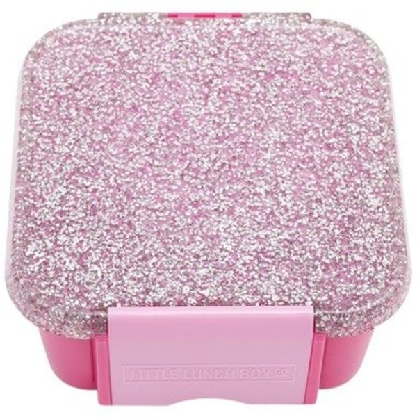 View larger image of Bento Two Lunch Box - Glitter Pink