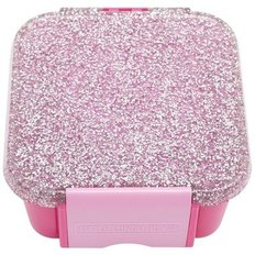 Bento Two Lunch Box - Glitter Pink