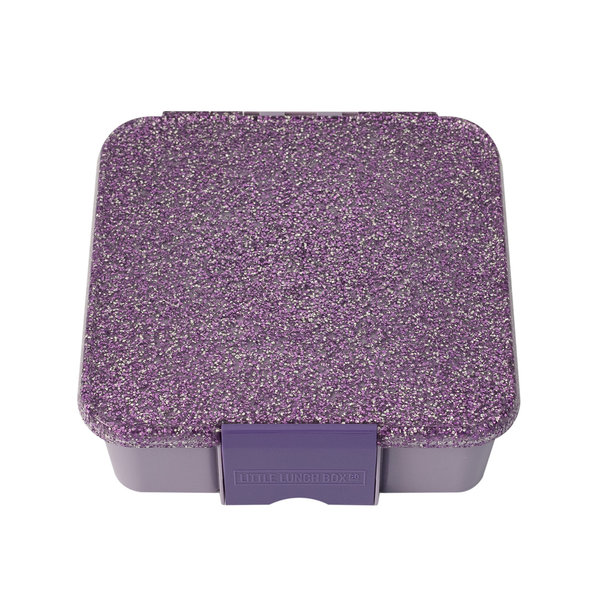 View larger image of Bento 3 Lunch Box - Glitter Purple