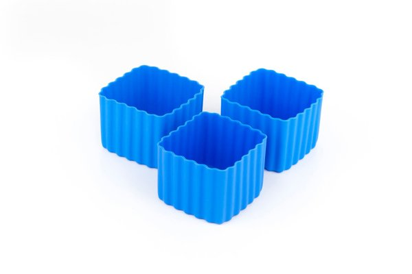 View larger image of Bento Cups Square - Blue