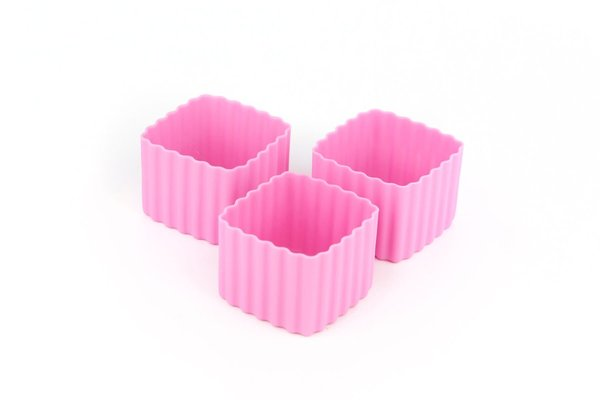 View larger image of Bento Cups Square - Pink