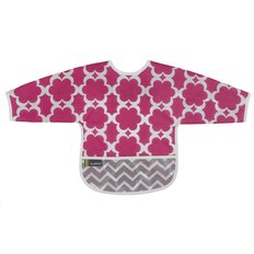 Clean Bib with Sleeves- 2-4 Yr