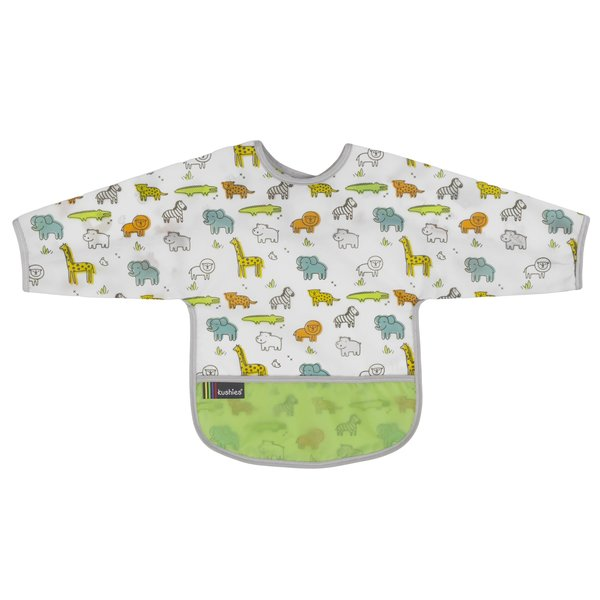 View larger image of Clean Bib with Sleeves- 2-4 Yr